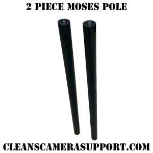 2 piece moses pole