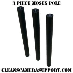 3 piece moses pole